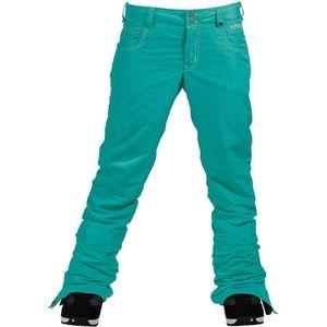 Burton White Collection snowboard pants size S